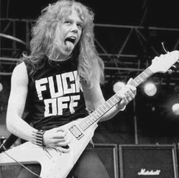 To my idol and to one of the people I look up to the most... Happy birthday James Hetfield