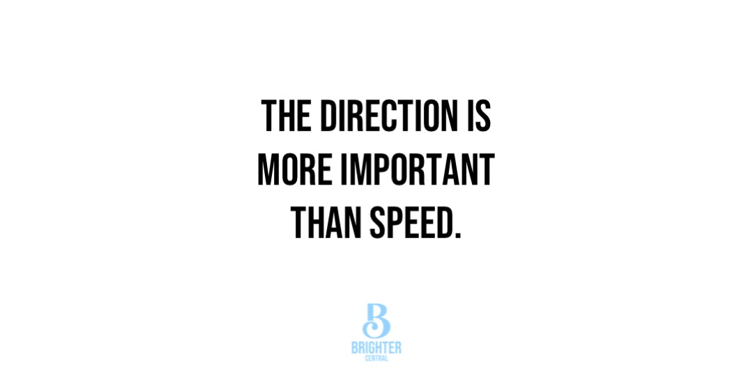 """This definitely gives you something to think about!  """"The direction is more important than speed.""""  #successquote #dailymotivation #dailyinspirationpic.twitter.com/B23Qvaedw4"""