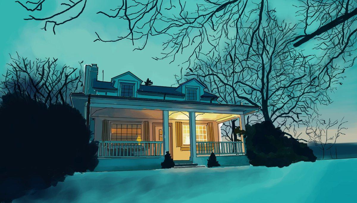 Will's house study! #Hannibal #Netflix #CLIPSTUDIOPAINTpic.twitter.com/PdN0VTK7NV