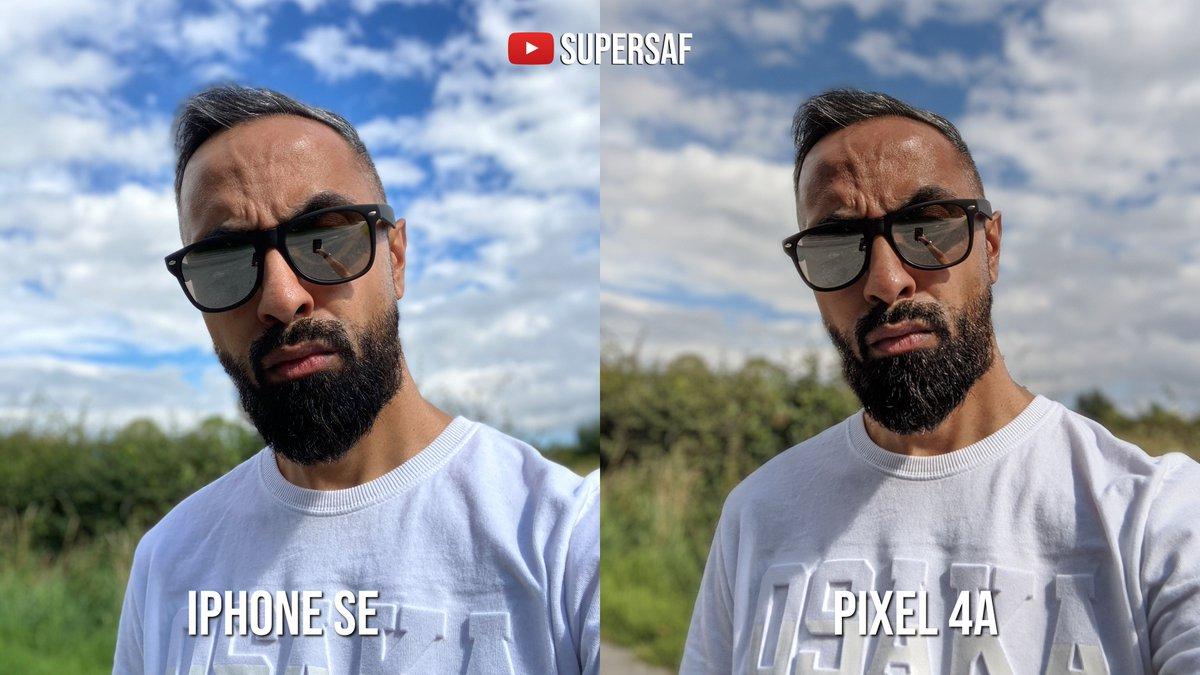 Ảnh chụp trên Google Pixel 4a và iPhone Se 2020 ...