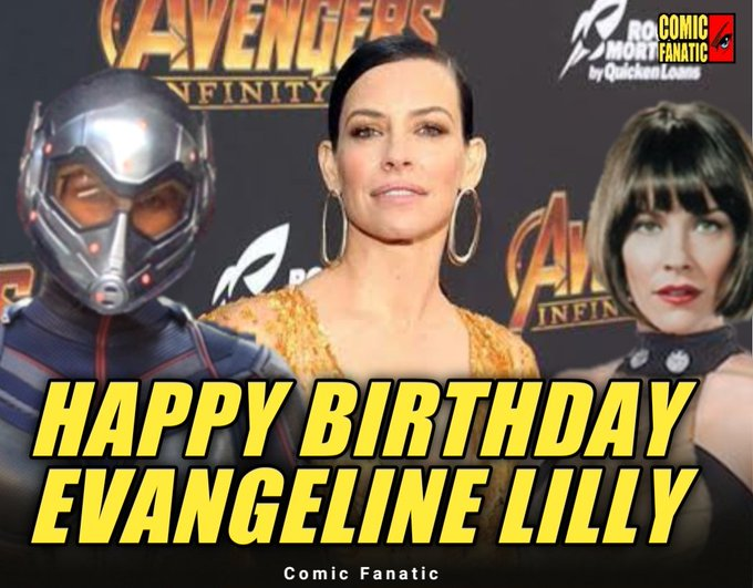 Happy 41st birthday Evangeline Lilly aka The Wasp!