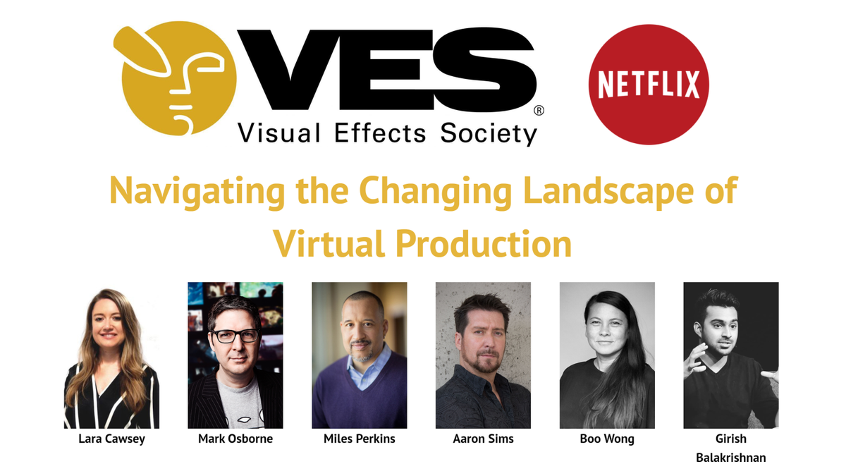 #VFX Pros: Home Edition webcast tomorrow, Aug 4th at 10 am (PDT) - Navigating the Changing Landscape of #VirtualProduction, co-hosted by @VFXSociety & @netflix -- RSVP: http://bit.ly/2DggoJU   #visualeffects #tvproduction #filmproduction #filmmakingpic.twitter.com/AwMIMm7svR