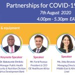 "Image for the Tweet beginning: #Webinar: ""Partnerships for #COVID19 in"