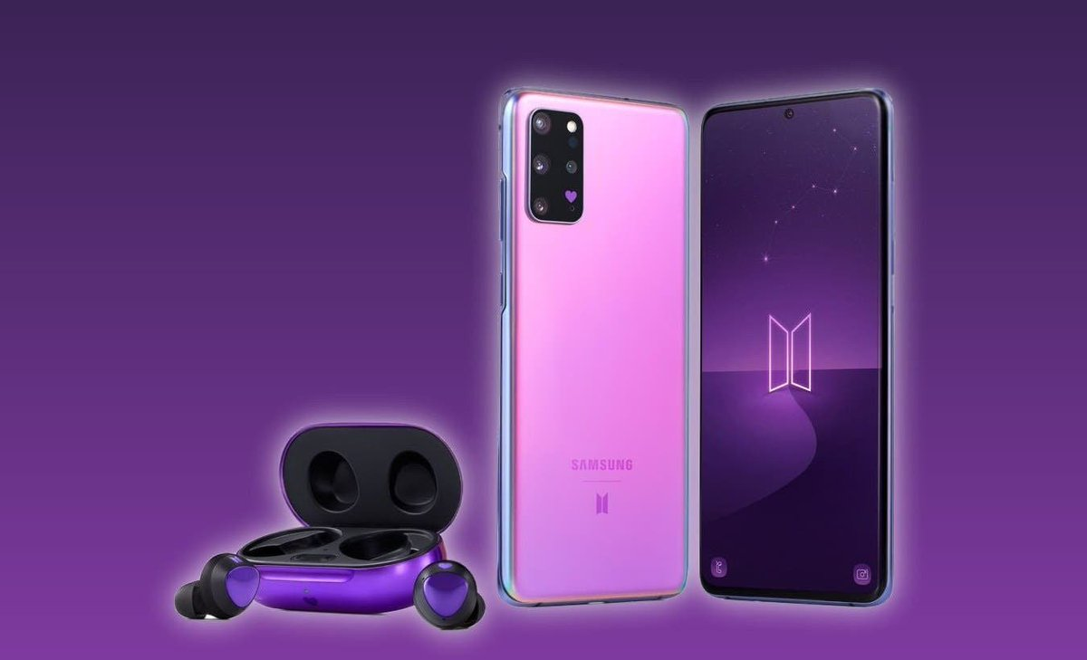 I'll give this Galaxy S20+ 5G BTS Edition (unlocked) with wireless ear buds or $1000 to a random user who retweets this tweet.   SHIPS INTERNATIONAL!  To enter   - Follow myself @WizardsCash & @EM_CryPT0    - Retweet this tweet   - Comment #BTSGiveaway  Winner chosen Aug 20th https://t.co/bMc3vTP42J