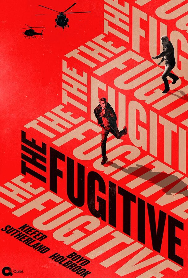 The Fugitive is out right now on Quibi. We had a great time making it. If you get a chance to check it out, I hope you enjoy it. https://t.co/kve4RyAgn2