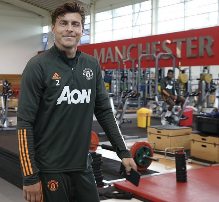 """Victor Lindelof: """"Recharged and ready"""" #MUFC [Ig]"""