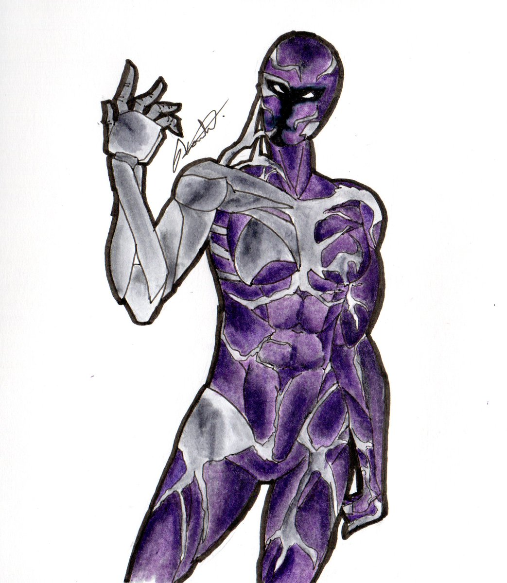 Scorn! What happened to her? #symbiotemarathon #symbiote #spiderman #marvel #alien #drawingoftheday #drawing #draweveryday #dailyart #daily #dailydrawing #traditionalart #traditionalpainting #traditionalartist #traditional_artpic.twitter.com/Tnjo97hIUZ