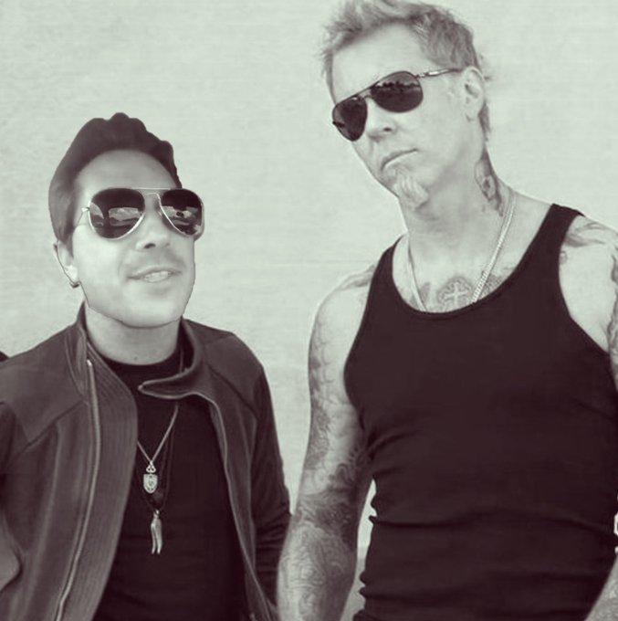 Happy birthday to a bad *ss metal god Metallica\s James Hetfield.