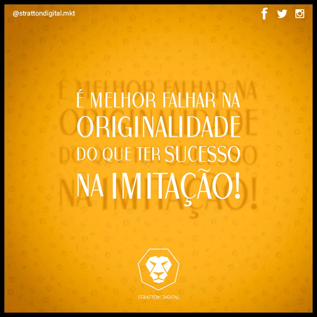 Seja original  . . . #sejaoriginal #mktbrasil #empreendedordigital #empreendedordigitalpic.twitter.com/wwl9S82SQn