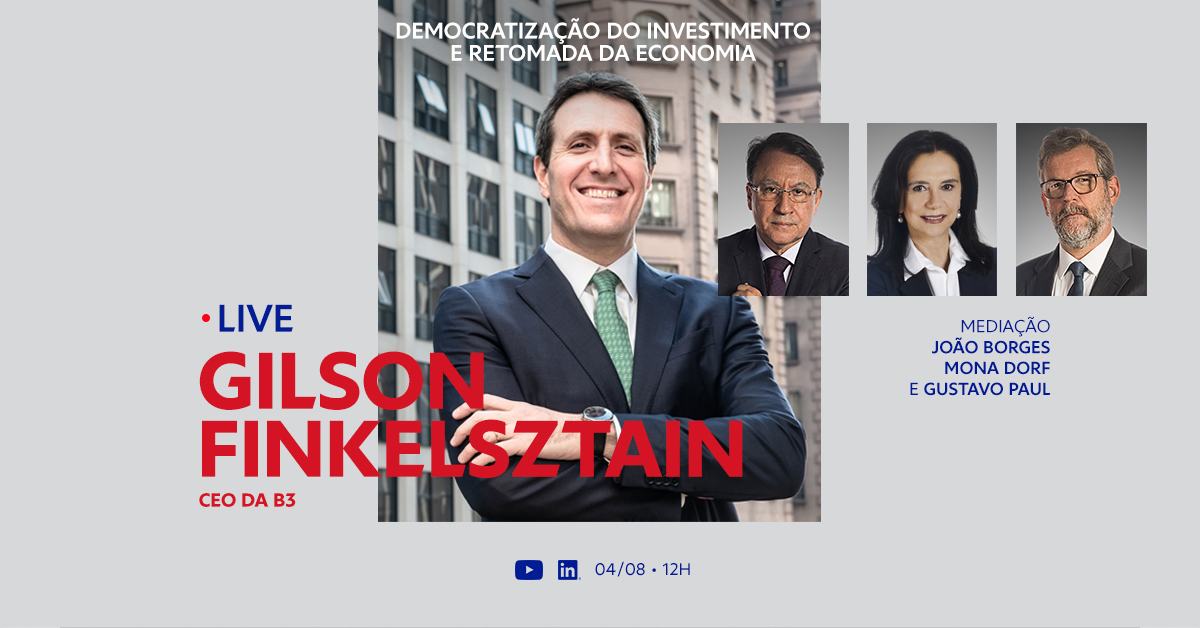 Gilson Finkelsztain, CEO da B3, fala sobre o aumento do número de brasileiros investindo na bolsa. Acompanhe em https://t.co/pC5QylXoMQ e leia o estudo do Observatório FEBRABAN – Pesquisa FEBRABAN - Ipespe em https://t.co/HvMOg06Jj4. https://t.co/uZ67ddH0c6