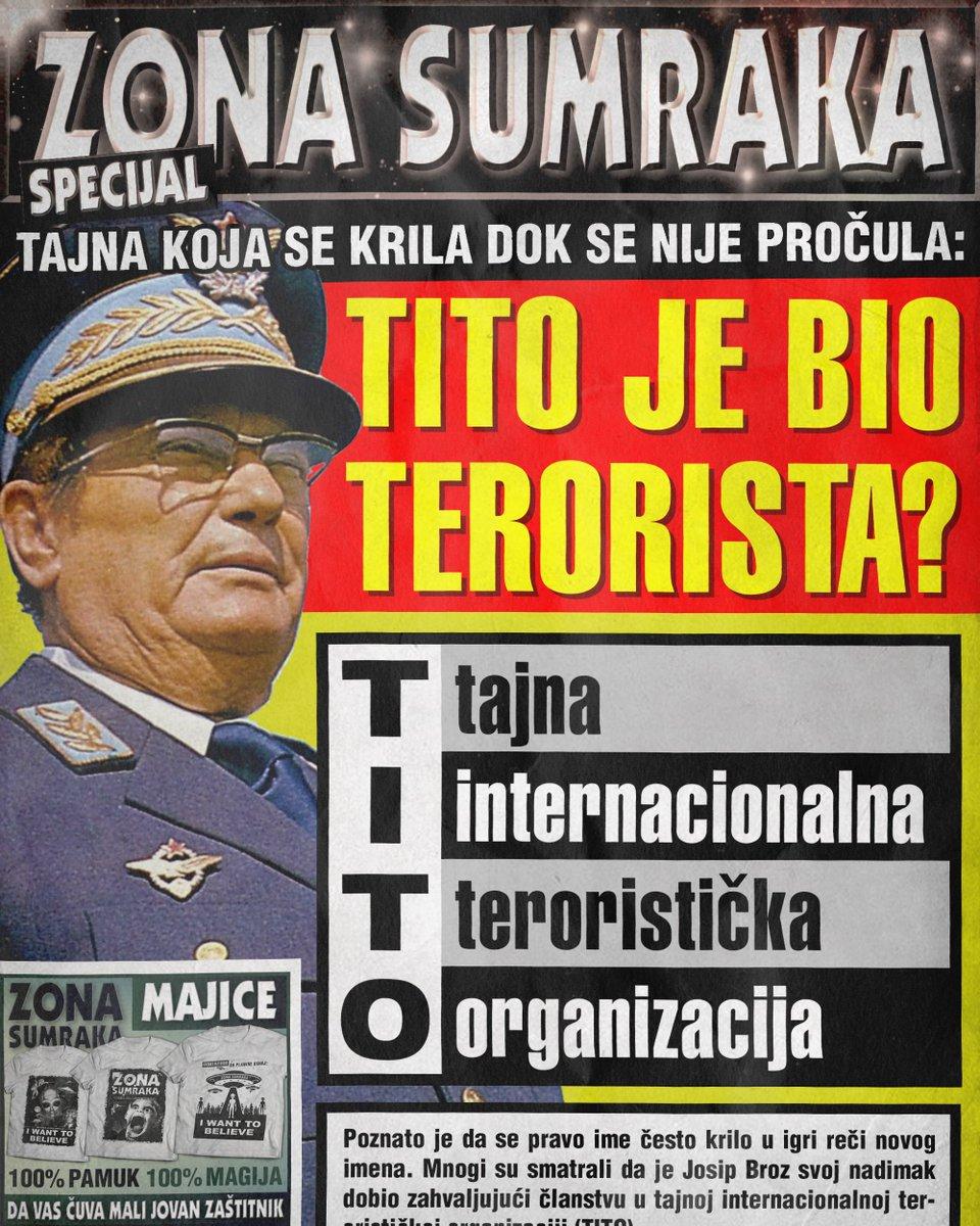 Tito je bio terorista