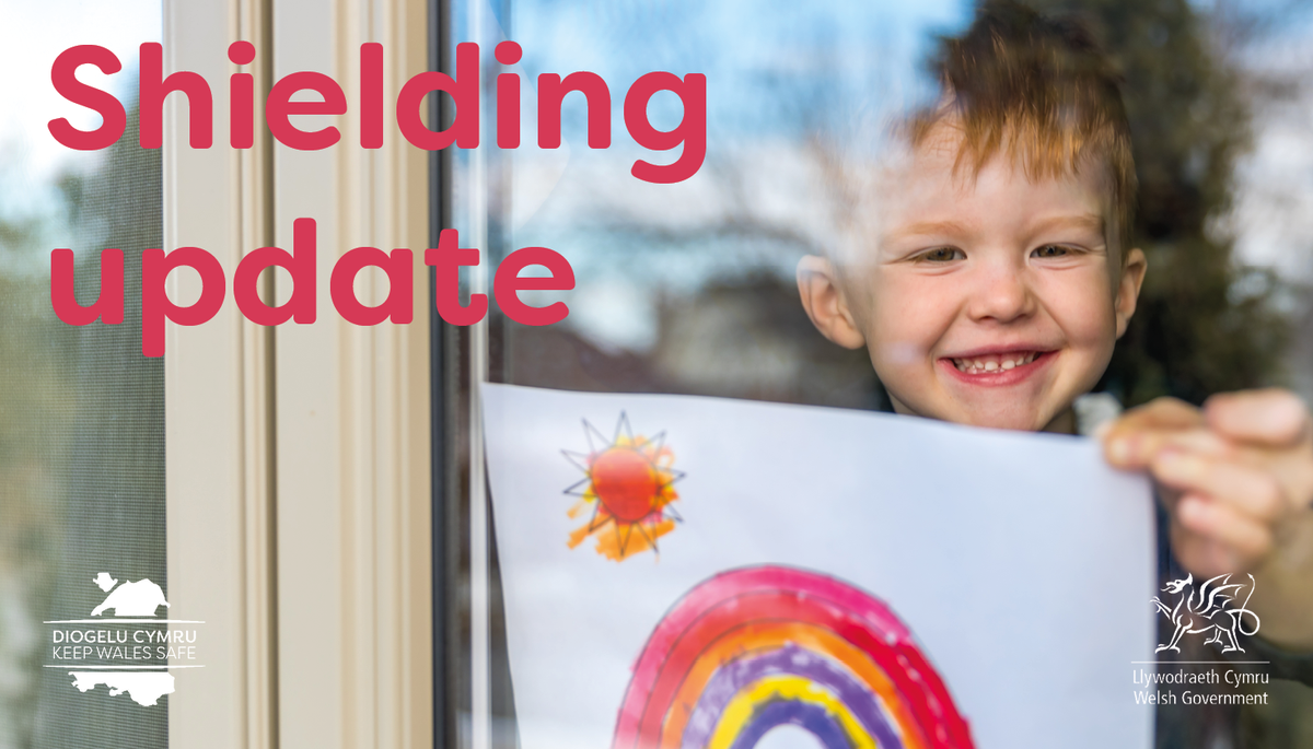 From 16 August well be pausing shielding. If youve been shielding, youll soon receive a letter from @CMOWales with more info ✉️ Heres the letter in full 👇 gov.wales/written-statem… Its also available in an easy read format ✔️ gov.wales/guidance-prote…