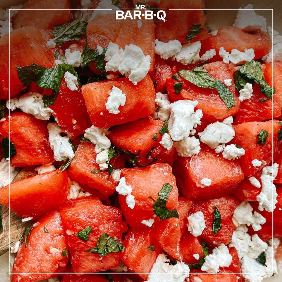 This refreshing watermelon and goat cheese salad is a perfect summer addition. https://t.co/zmww1d0vo7   #StayHome #Watermelon #GetOutAndGrill #Grilling #BBQ #GrillNation #BBQNation #BBQMaster #GrillMaster https://t.co/XZ7RSzzsWo