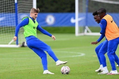 Christian Pulisic says Timo Werner has already made an impression in training after linking up with his new Chelsea team-mates. The striker has been training with Frank Lampard's squad for the last week after completing a move from RB Leipzig.