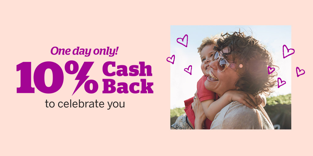 To show how much we ❤️ our members, we're offering 10% Cash Back, just for today. rakuten.com/member-appreci…