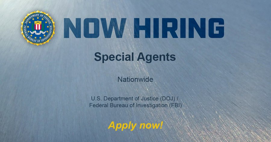 #MondayMotivation This is the start of your new chapter! #FBIJobs ow.ly/5FSu50APiGR