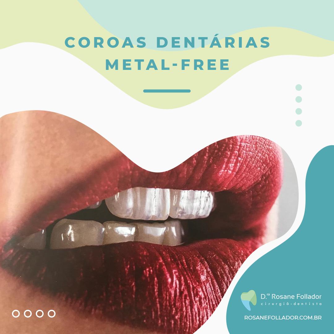 Você já ouviu falar na Coroa Dentária Metal Free?  Para saber mais, acesse o link a seguir https://n8qhg.app.goo.gl/4swS  #rosanefollador #odontologia #cirurgiadentista #dentista #dentes #sorriso #saudebucal #protese #coroadentaria #metalfree #semmetal #coroadentespic.twitter.com/3YAtDHACOV