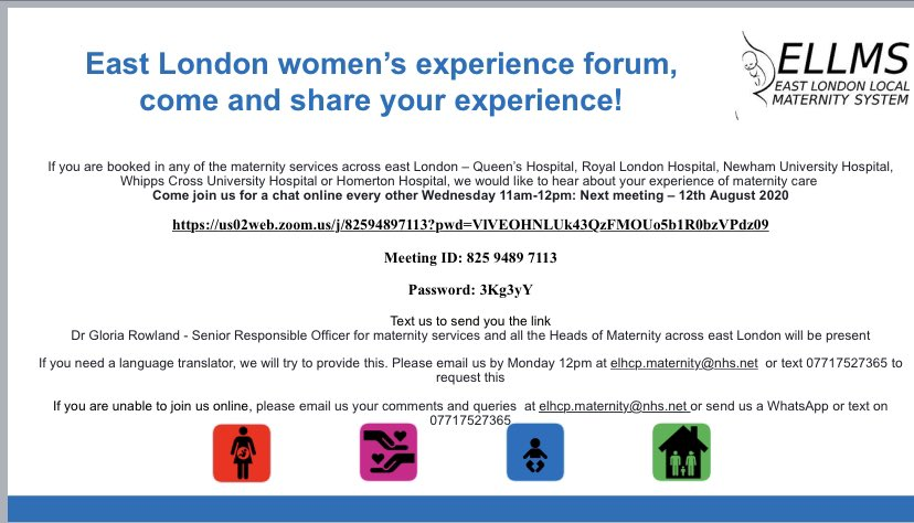 The COVID-19 pandemic has been very challenging for us all however, our women continue be be at the centre of the care we provide. We therefore continuously review our policies to ensure our women's voices are heard. @NHSBartsHealth @Gsep_ @EastLondonMVP @NUHmaternity @ShonaSolly https://t.co/XaWjWdJtZI