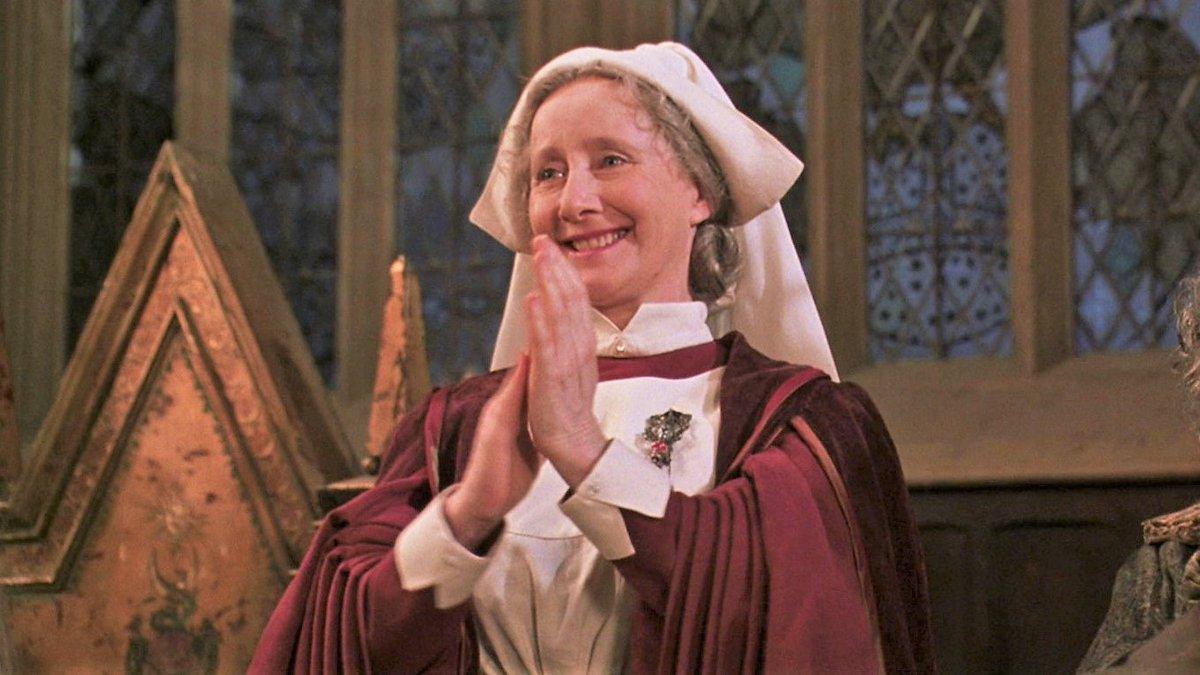 Cero rebrotes en Hogwarts. Impecable la gestión de Madame Pomfrey. https://t.co/vThOwBkFDy