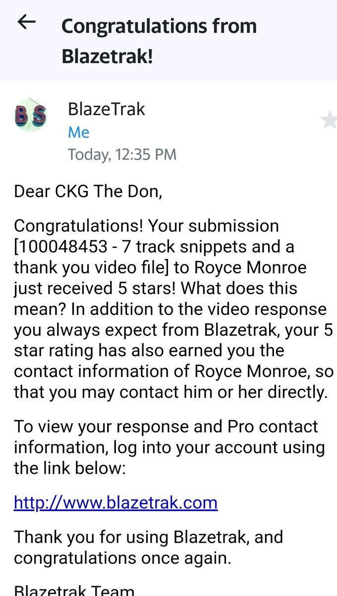 thanks!! #5Stars @Blazetrakpic.twitter.com/Lq7wmRx1EF