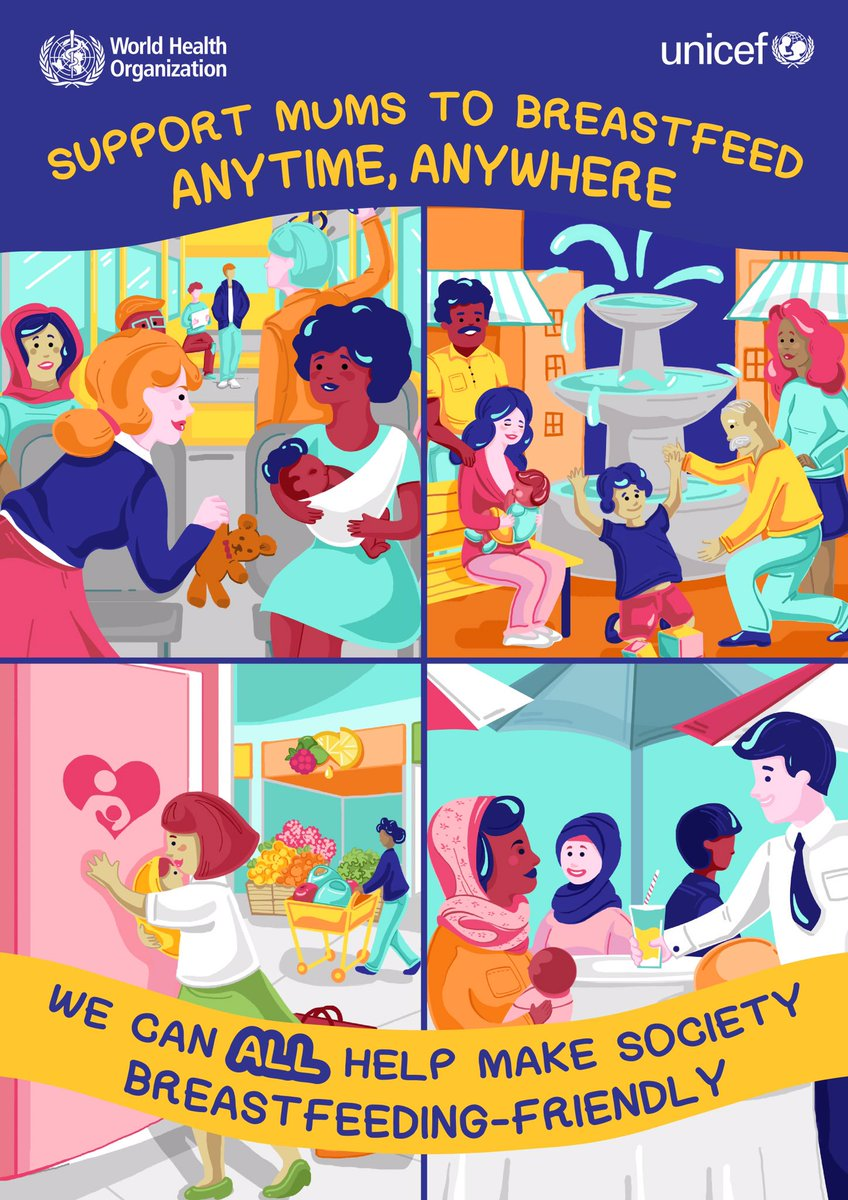 #Breastfeeding is natural but it's not always easy. The right #advice can help women to resolve common questions, overcome challenges, and give their baby the best start to life. That's why we support the government to invest in skilled #breastfeeding counseling for every mother.pic.twitter.com/1DTcgTrp15