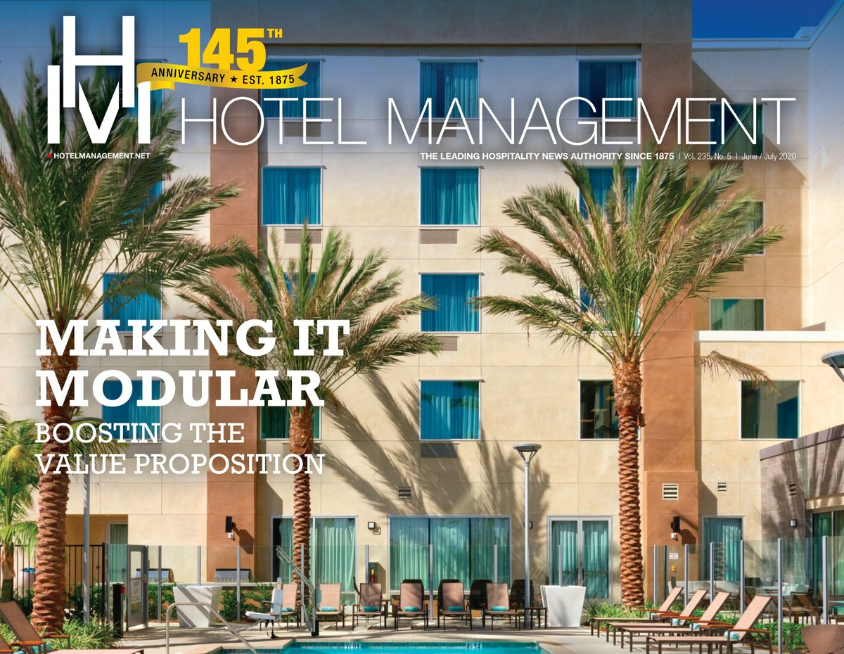 Always nice to see one of our projects featured on the cover of Hotel Management magazine. At 354 Units, this dual branded project in Hawthorne, CA is still Marriott's largest prefabricated development to-date. http://www.hotelmanagementdigital.com/publication/?m=18433&i=666574&p=0 …pic.twitter.com/QqFIx5VwrL