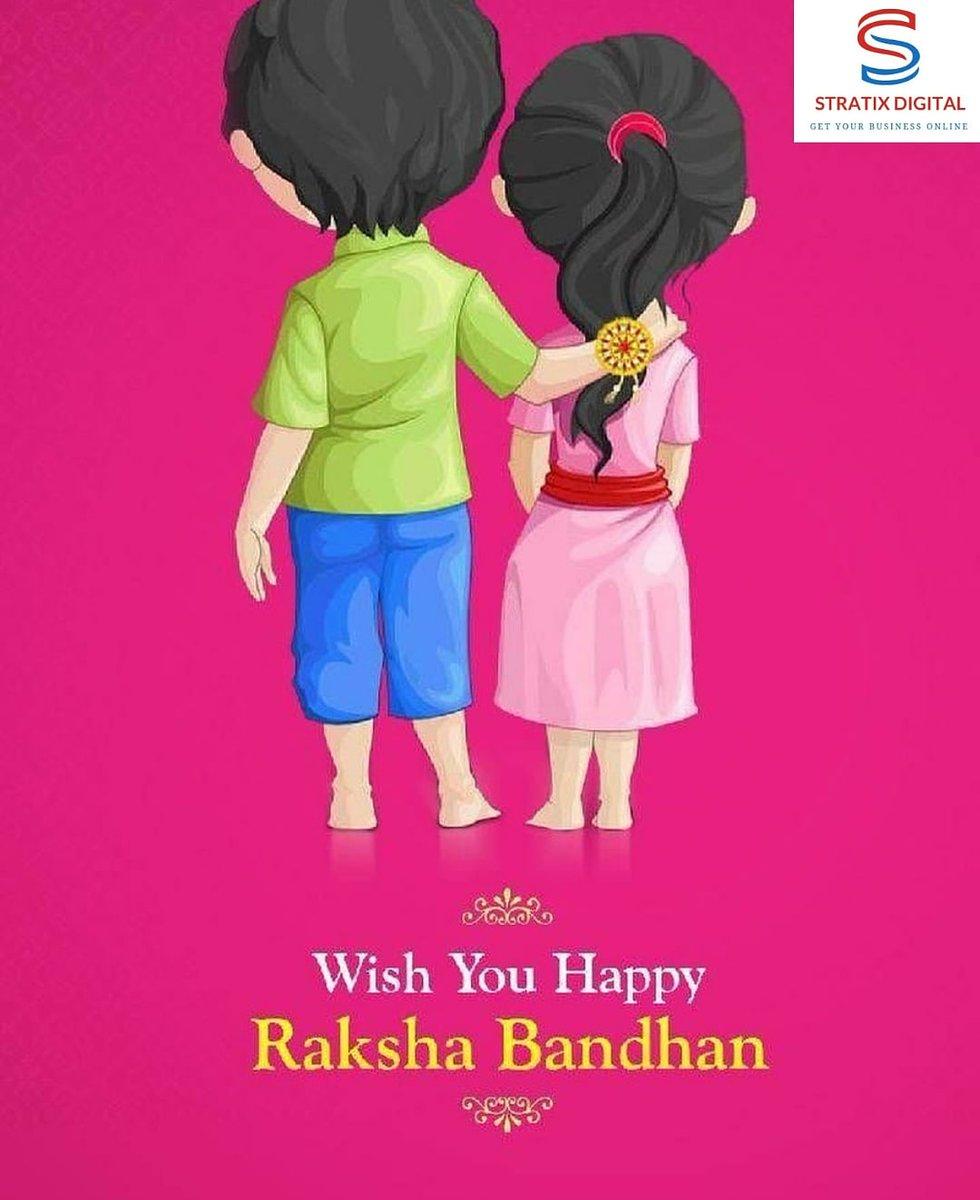 @StratixDigital wishes you #happyrakshabandhan   #raskhabandhan #brother #brothers #sister #sisters #siblings #siblingslove #brotherslove #sisterslove #family #familytime #stratixdigital #marketing #digitalmarketing #digital #rakhi #love #gift #gifts #rakhispecial #rakhis #indiapic.twitter.com/tM7E5OzlEN