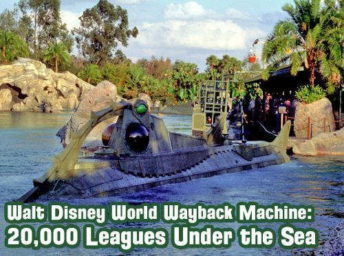 Walt Disney World Wayback Machine - 20,000 Leagues Under the Sea, Fire Mountain and Villains Mountain http://bit.ly/2oTZTbZ   Listen on Apple Podcasts at http://WDWRadio.com/Podcastpic.twitter.com/nP9fDHPRj9