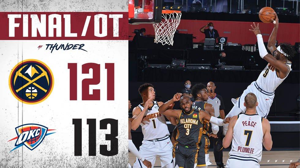 BIG TIME W!!!!  #MileHighBasketball https://t.co/PvTWSqjCBQ
