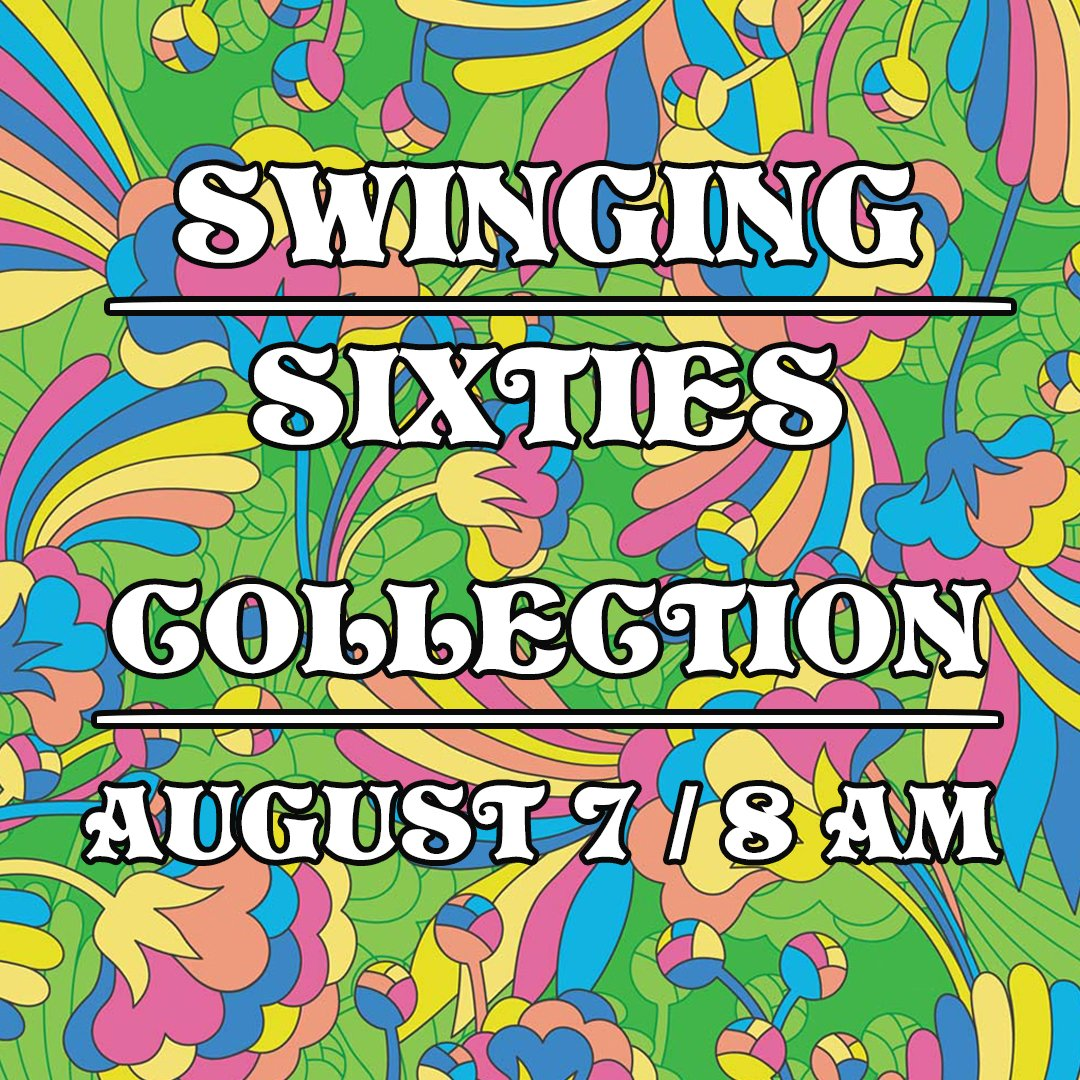 The SWINGING SIXTIES COLLECTION will be released on Friday August, 7th at 8 AM!  It's full of lovely vintage pieces that I know you're all just going to love! #etsy #vintage pic.twitter.com/vJYFzgPsjr