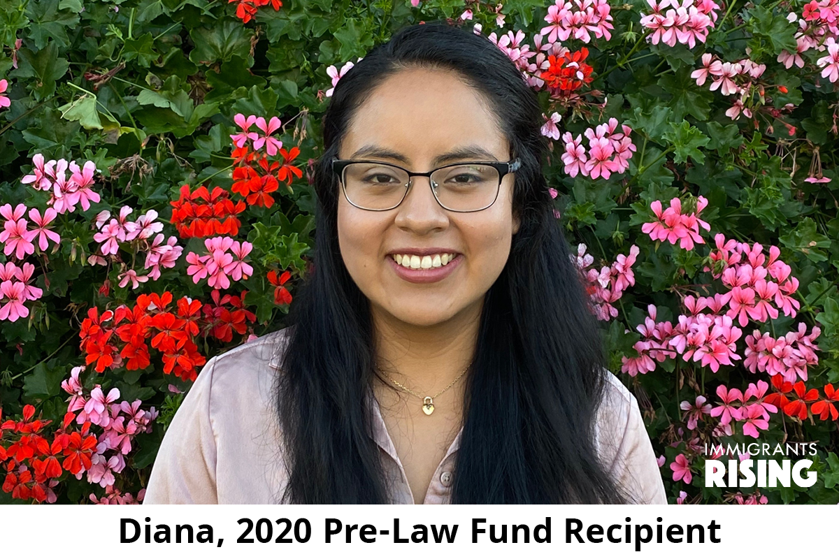 Meet Diana, our 2020 Pre-Law Fund Recipient. Diana's time abroad sparked her interest in pursuing an international dual law degree to address legal issues in a global context. Read Diana's profile: https://t.co/z4dpJZaWNz #StillWeRise #Immigration https://t.co/2DA76nrj8a