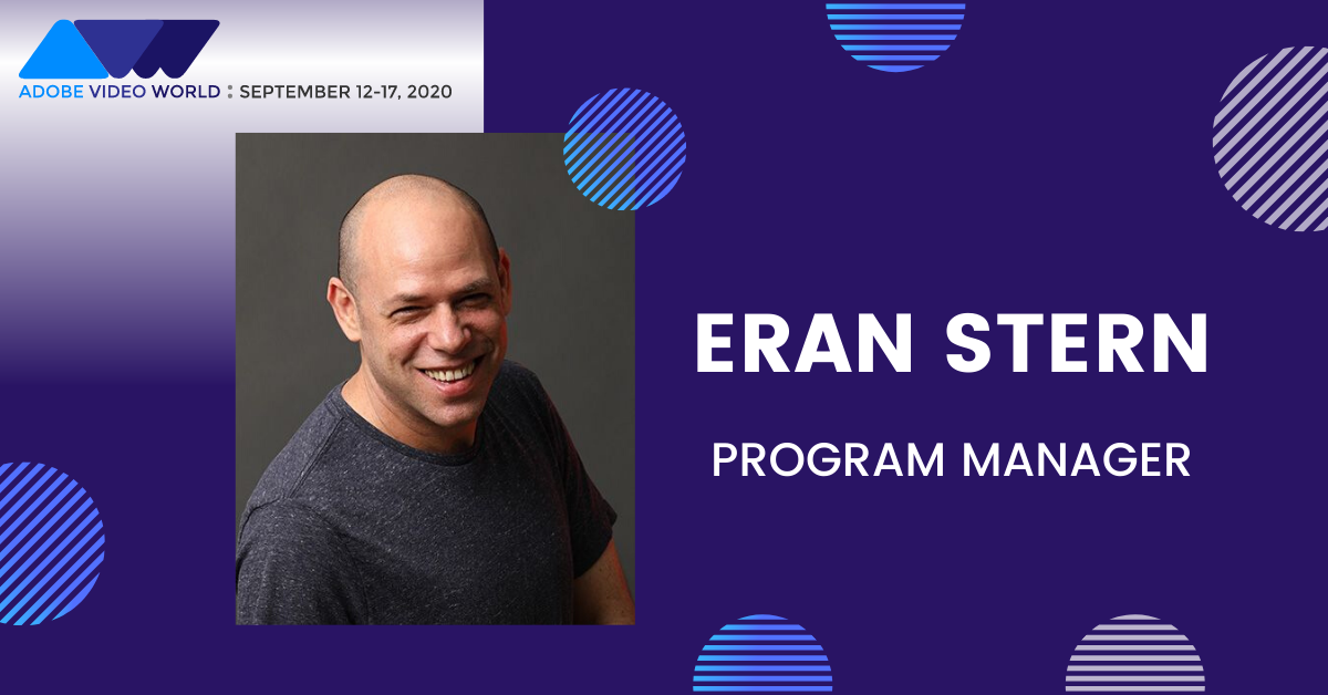 Meet our @AdobeAE Program Manager, Eran Stern! @sternfx has an established track record in helping designers improve their skills with #VisualEffects and #MotionGraphics. Learn directly from him at Adobe Video World next month: https://bit.ly/2PkiITh pic.twitter.com/0Yh2cLJZs2