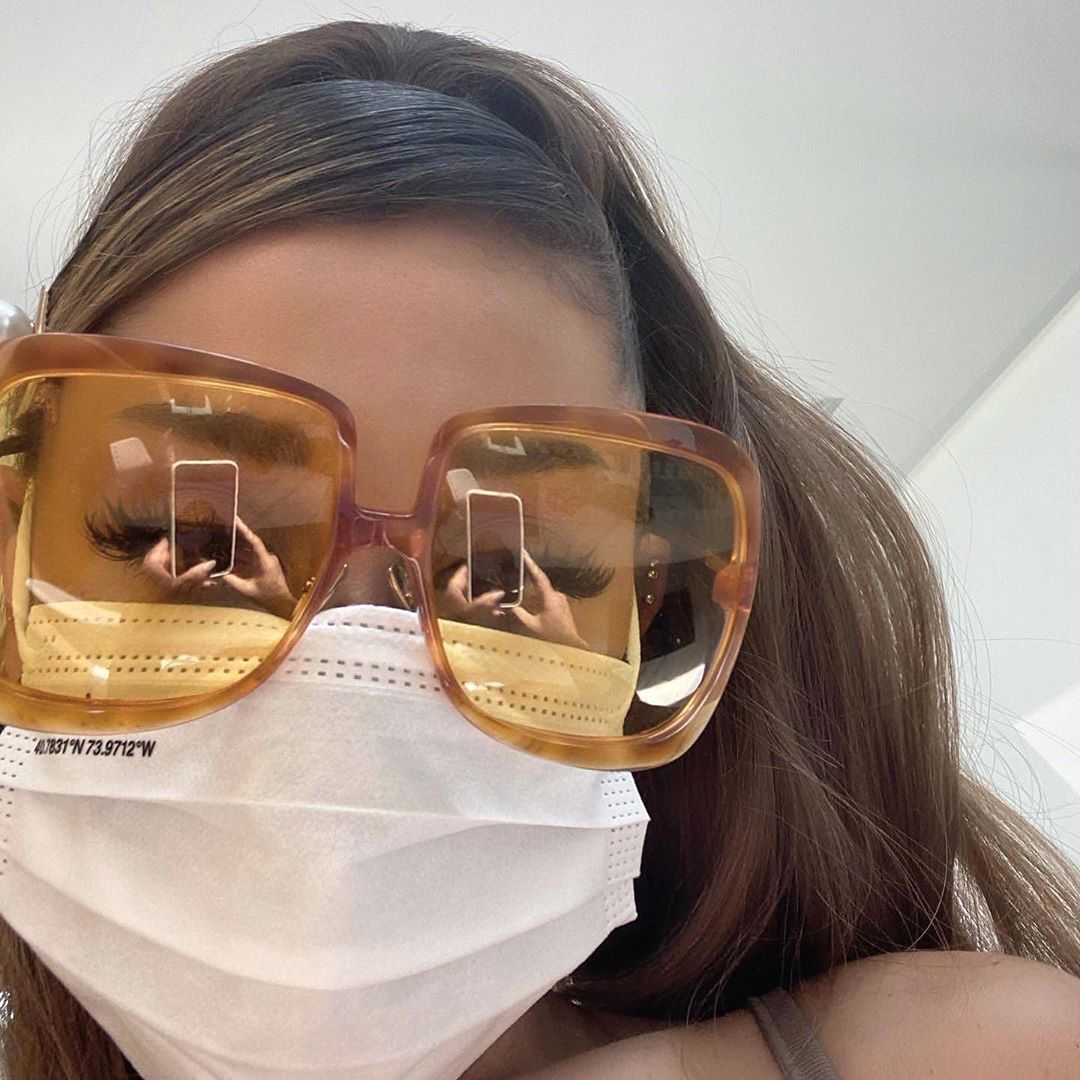 Cases are spiking, so take a hint from @ArianaGrande and WEAR YOUR MASKS!! ♡ #AloneTogether