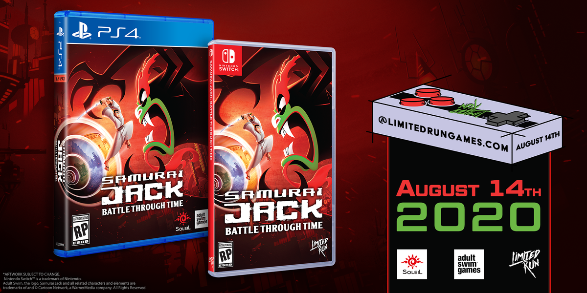 Limited Run Games On Twitter Journey Through Time To Stop Aku S Evil Reign In This New Adventure Told By The Creators Of Samurai Jack Samurai Jack Battle Through Time Samuraijackgame Gets A