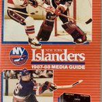 Image for the Tweet beginning: Kelly Hrudey, @NYIslanders 1987-88 Media