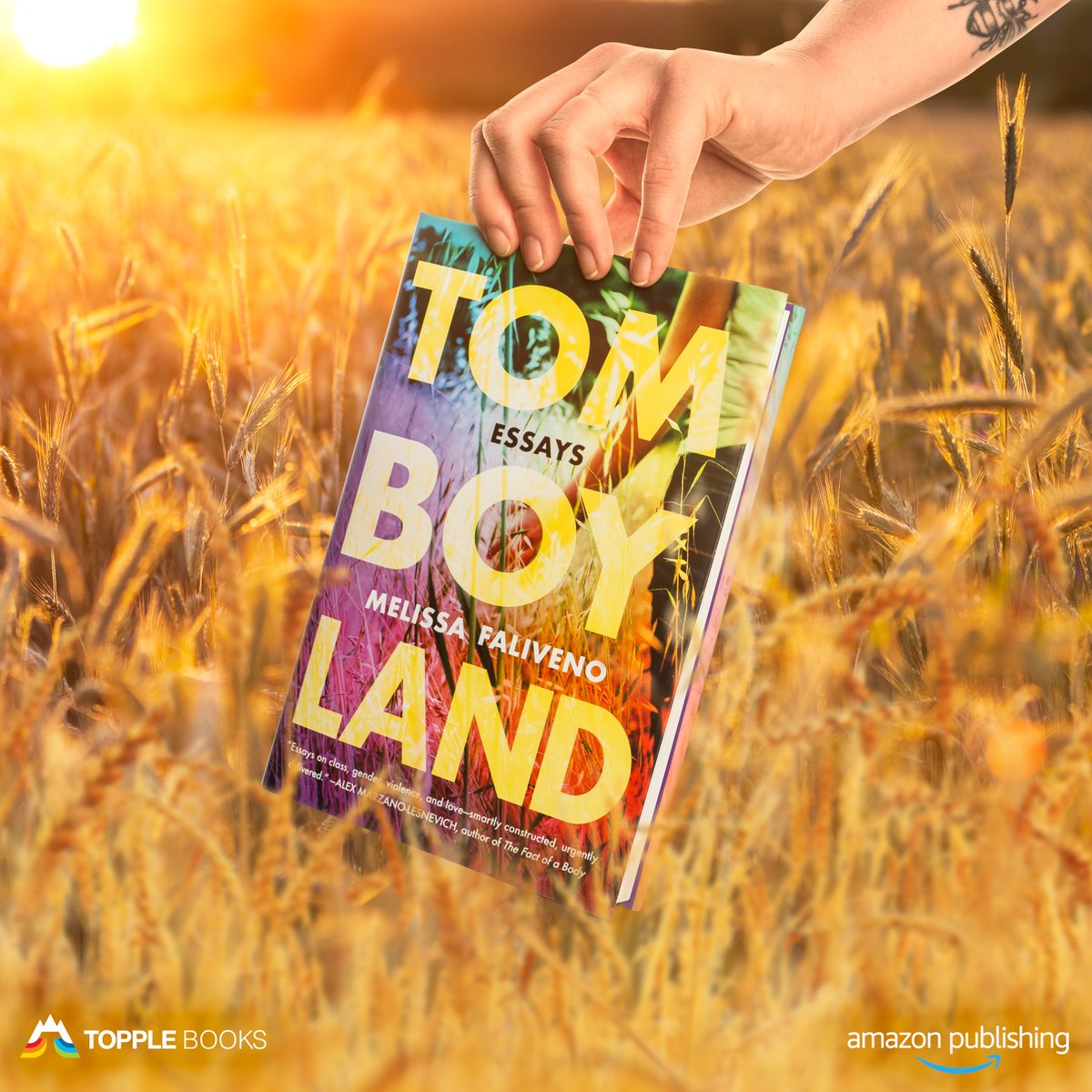Sometimes there is no one word for who we are. @mlfaliveno's striking collection of personal essays explores gender and identity as the first book from TOPPLE Books. http://Amazon.com/Tomboyland pic.twitter.com/rLTiRXsEvH