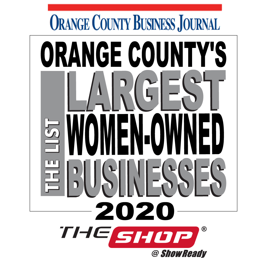 """We are proud to have been ranked in @OCBizJournal 's """"The List"""" of largest women-owned businesses. Honored to be part of a network of remarkable women in various industries throughout Orange County. #showready #experiential #exhibits  #WomenWhoHustle #WomenInBusiness #womenownedpic.twitter.com/4gc2EYOT1d"""