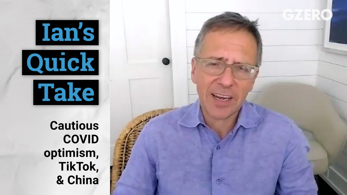 I'm a bit more optimistic about the coronavirus news in the US now. The learning in terms of science and in terms of governments and people should actually make us get better at handling it.   My thoughts on this plus the latest US-China developments in a @gzeromedia #QuickTake. https://t.co/kfynJdImbP