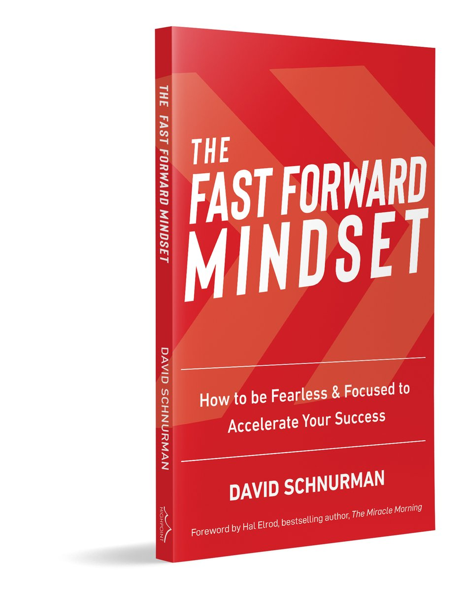 "Big Happy Birthday to @DavidSchnurman, author this highly acclaimed Highpoint book. ""You are in for a treat. Once you read The Fast Forward Mindset, there is no going back."" – Hal Elrod, international bestselling author #ffmindset #success #leadership #happiness #entrepreneushippic.twitter.com/T9xCfXgWQl"