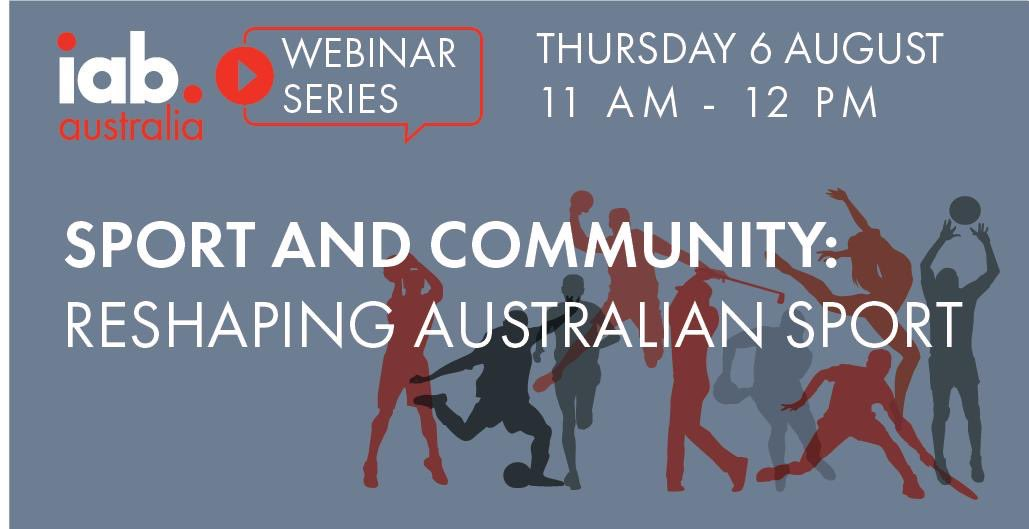 Want the latest on sports fan engagement, sponsorship and digital media offerings? Join us on Thu for this week's free @IABAustralia webinar. #sportsmarketing #sportsmedia https://iabaustralia.com.au/event/sport-and-community-reshaping-australian-sport/ …pic.twitter.com/iOy2MjAIMj