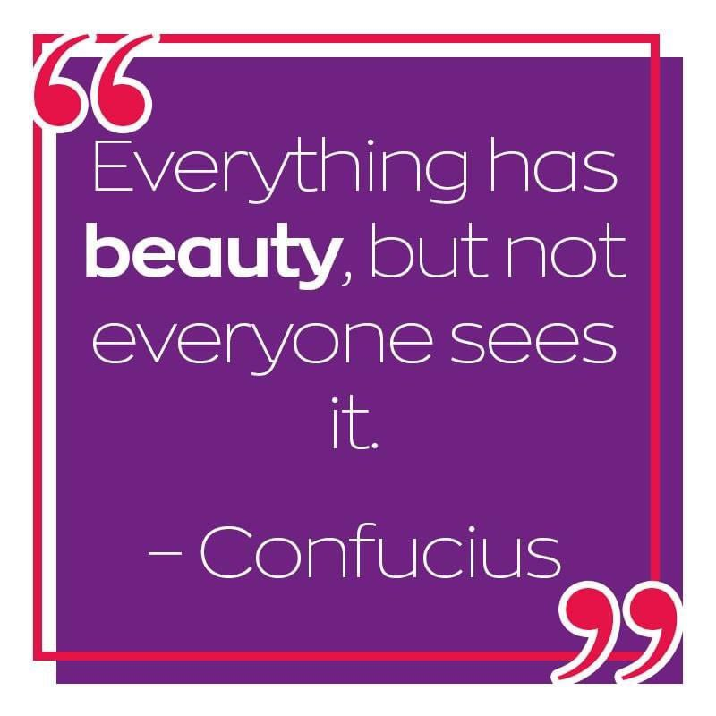 Just because not everyone can see it doesn't mean it isn't there #findthebeauty #beautyaddict #beautyjunkie pic.twitter.com/zs1Zd24MEF