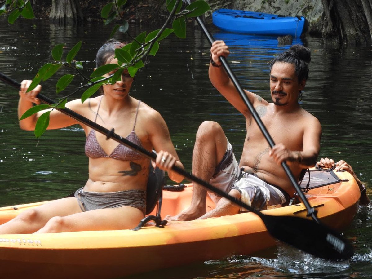 When was the last time you practiced kayakin the crystal clear waters of a #Cenote in the middle of the #Cancun and #RivieraMaya Jungle? Reserve now:  https://bit.ly/2Di4AXZpic.twitter.com/d8Bbq0yASa