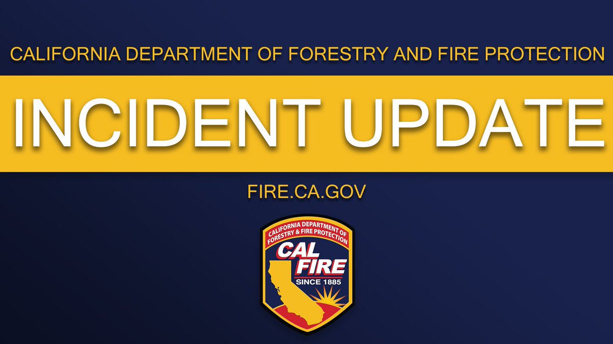 Image posted in Tweet made by CAL FIRE on August 4, 2020, 2:54 am UTC