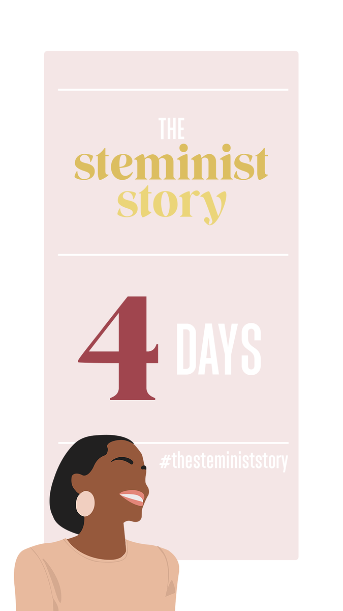 4 days until our launch and we are so excited to share our first Steminist Story!   #womenintech #womensupportingwomen #womenwhohustle #thesteministstorypic.twitter.com/qjqZiNtmwx