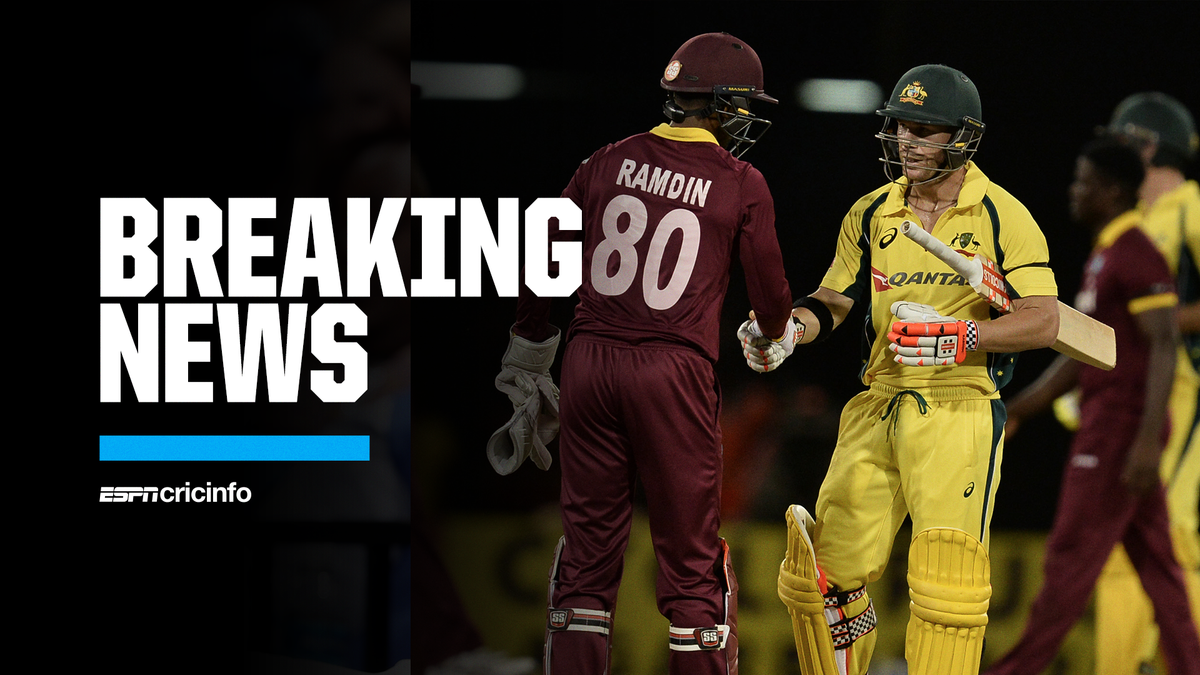 Just in: Australia's T20I series against the West Indies, scheduled for early October, has officially been postponed  The leading T20 players from both teams will now be available to play in the IPL https://t.co/xtsCE1ITmA