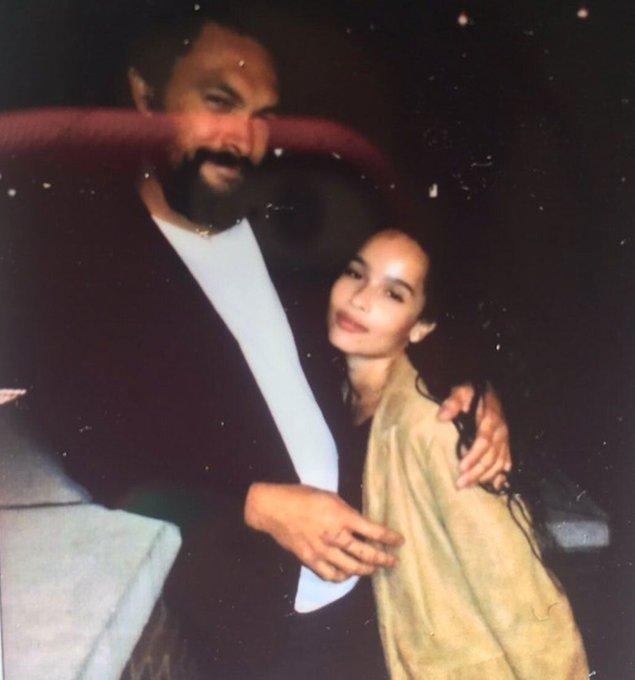 Zoë Kravitz and her dad Lenny Kravitz wish Jason Momoa a happy 41st birthday: \I love you\