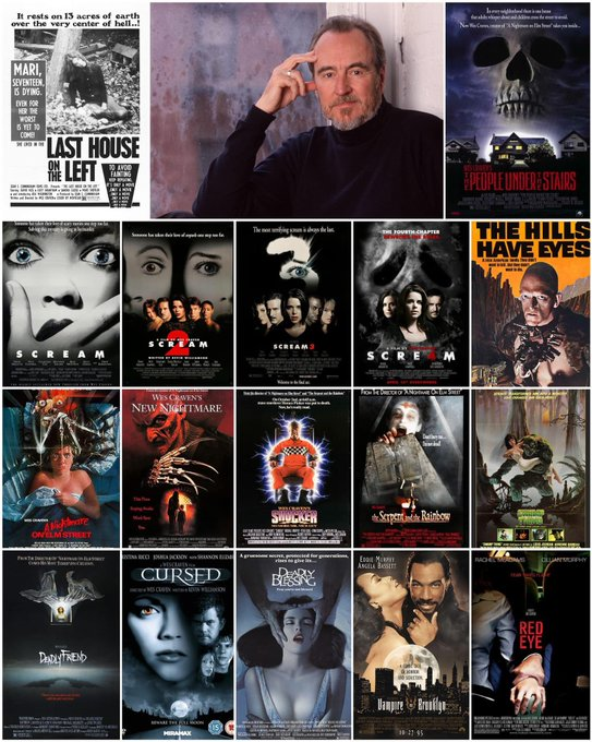 Happy Birthday Wes Craven! What is your favorite Wes Craven film?