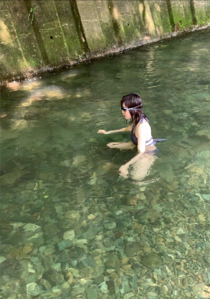 川でガチ泳ぎする人いたら私です