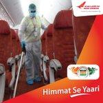 Image for the Tweet beginning: #FlyAI: As Vande Bharat Mission