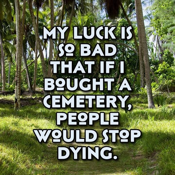 #lifelessonslearned #tuesdayvibes #TuesdayMotivation   ye my bad luck is excellent pic.twitter.com/kMGEQ0sM2s